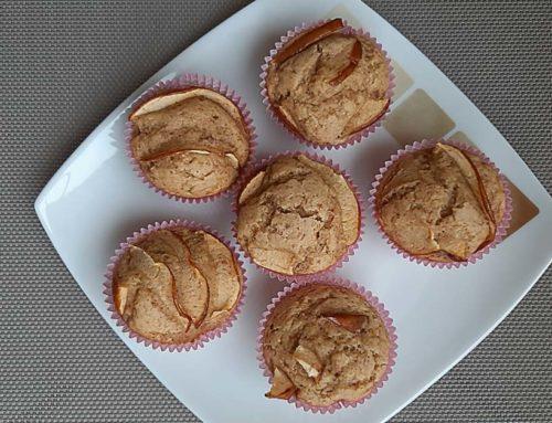 Muffins mele e cannella