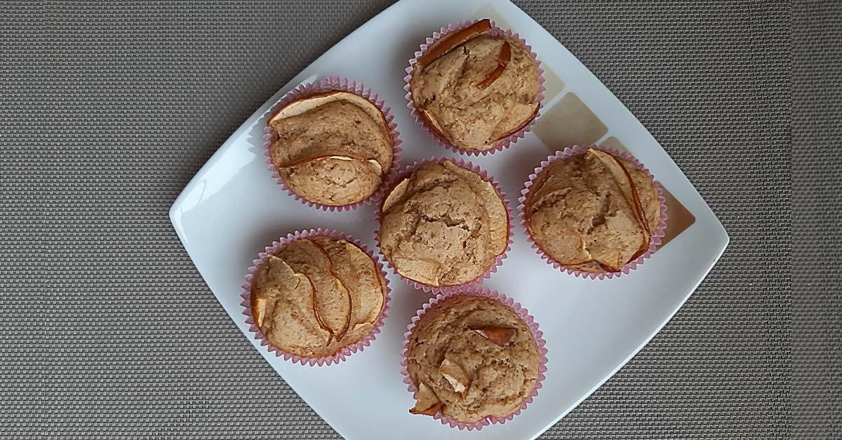 muffins-mele-dolci-latte-Patrizia Di Mare-nutrizionista-Studio di Nutrizione-Augusta-Siracusa-Lentini