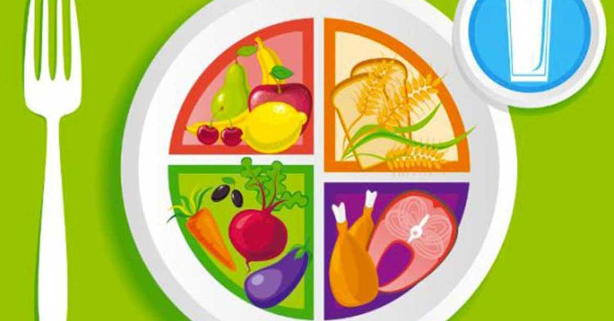 piatto della salute-piramide alimentare-acqua-cereali-proteine-Patrizia Di Mare-nutrizionista-Studio di Nutrizione-Augusta-Siracusa-Lentini