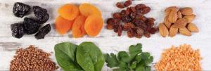 ferro-pesce-legumi-frutta secca-Studio di Nutrizione-Patrizia Di Mare